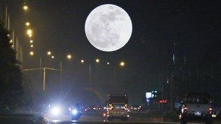 """Astronomie: ce dimanche soir, une """"Super Lune"""" ornera le ciel"""