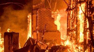 La Californie à nouveau dévastée par les flammes