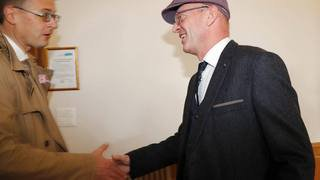 Le PLR Gabriel Voirol prend la mairie de Porrentruy au PDC Pierre-Arnauld Fueg