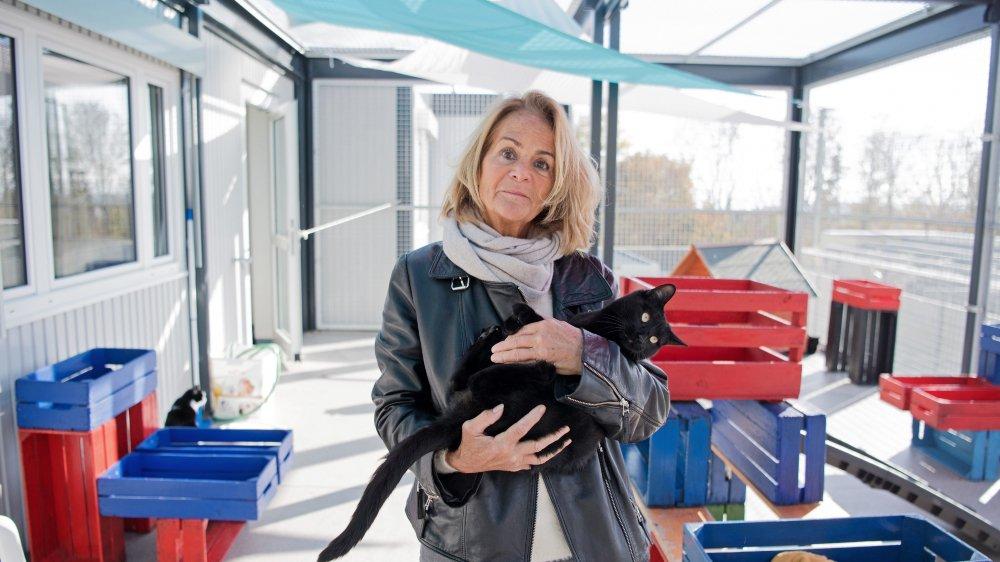 La présidente de la Sociéte protectrice des animaux de Neuchâtel et environs, Chantal Yerly, est reconnaissante de l'élan de solidarité qui permet à l'association de continuer son travail.