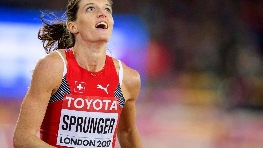 Lea Sprunger a marqué de son emprunte la saison 2017, avec notamment une 5e place sur le 400 m haies aux Mondiaux de Londres.