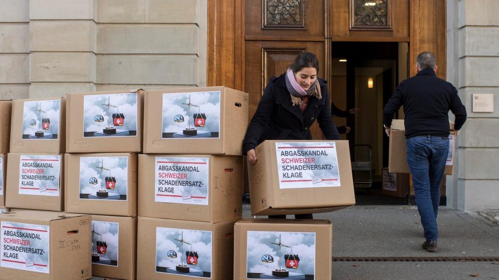La Fondation alémanique des consommateurs a déposé une action  en dommages et intérêts à Zurich.