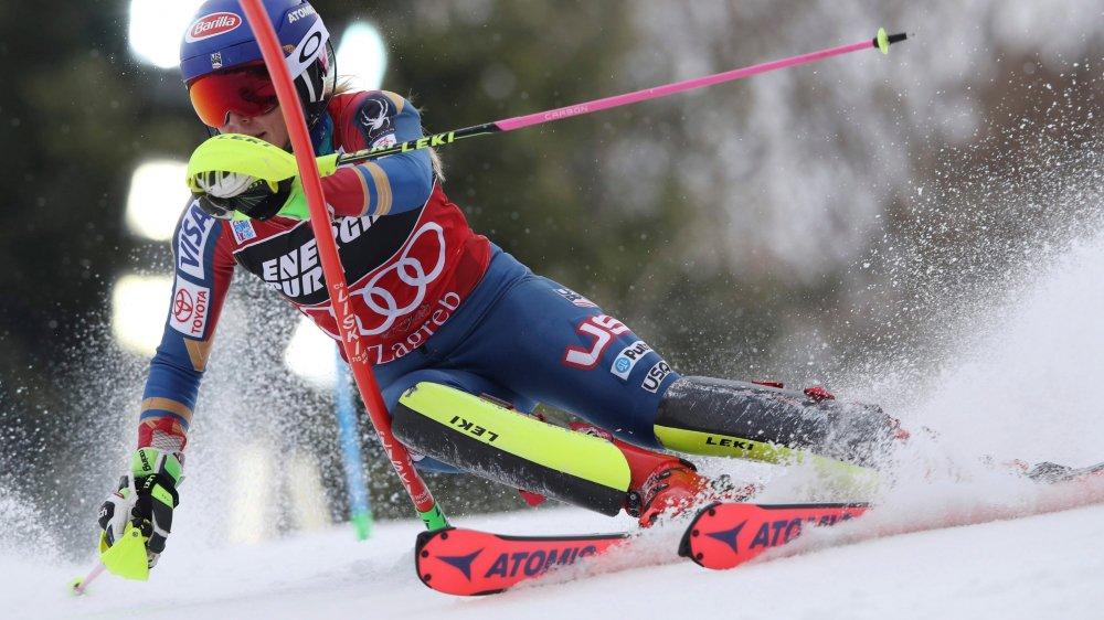 La skieuse du Colorado a signé en Croatie son 38e succès en Coupe du monde, et son 28e en slalom «traditionnel».