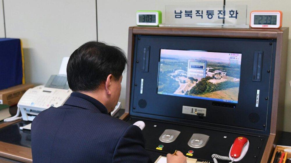 Le «téléphone rouge» a été coupé quatre fois entre les deux Corées.