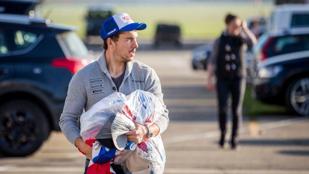 Carlo Janka va pouvoir enfiler son équipement de skieur aujourd'hui à Wengen.