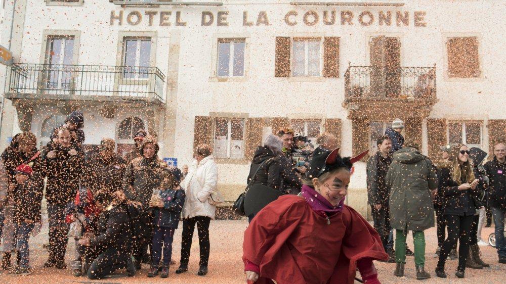 Le public va se délecter et se régaler durant le prochain carnaval des Franches-Montagnes, qui aura lieu au Noirmont en février.