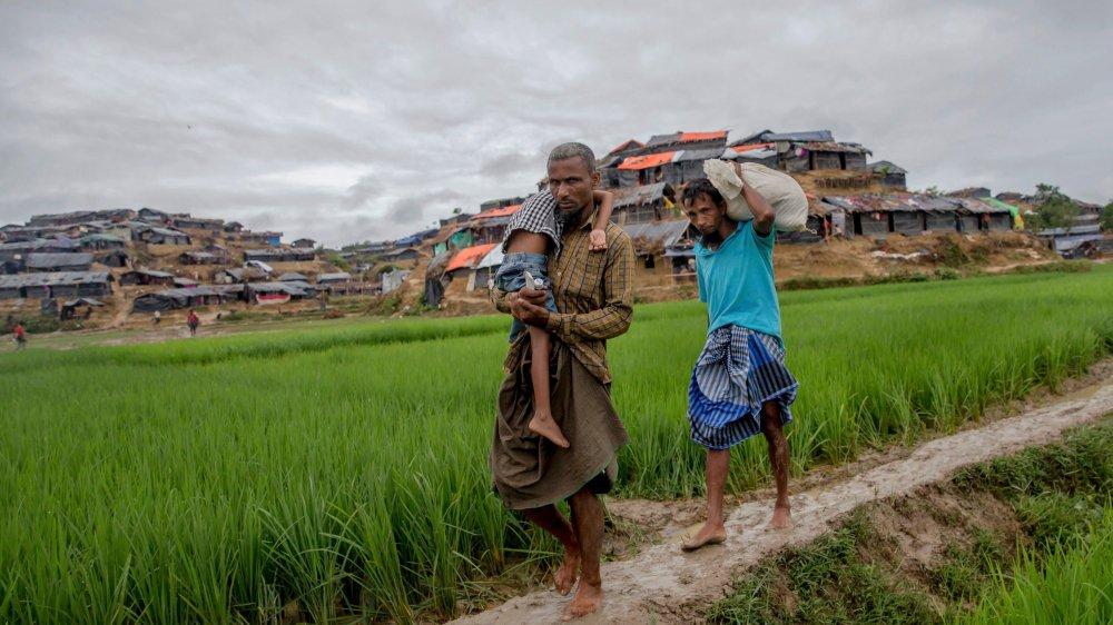 Le conflit a poussé 655000 Rohingyas à fuir au Bangladesh.