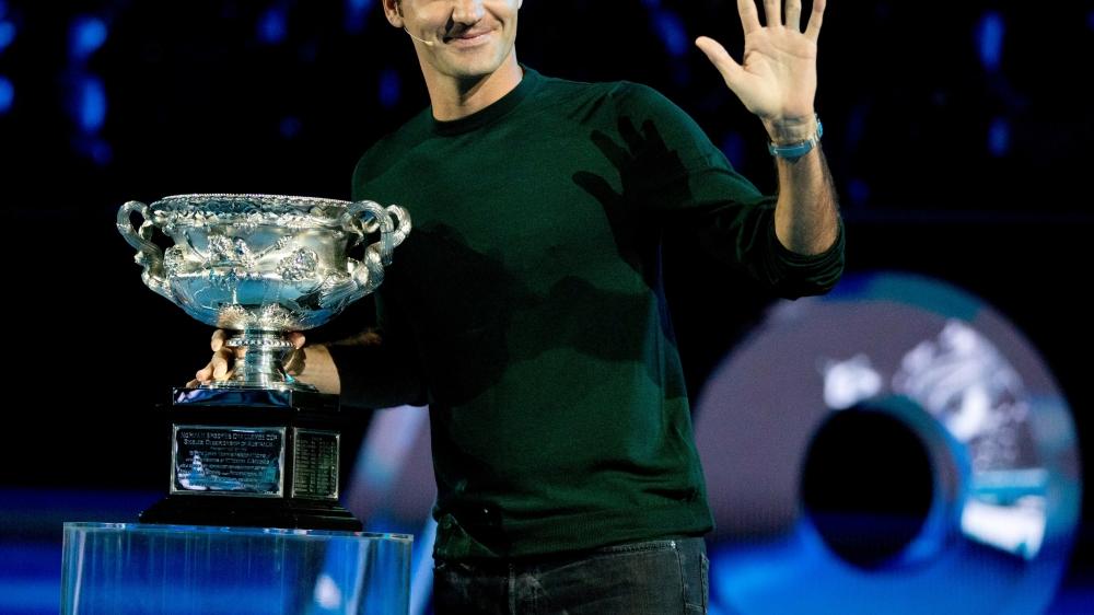 Tenant du trophée, Roger Federer (ici lors du tirage au sort) est en confiance. Contrairement à nombre de ses adversaires.