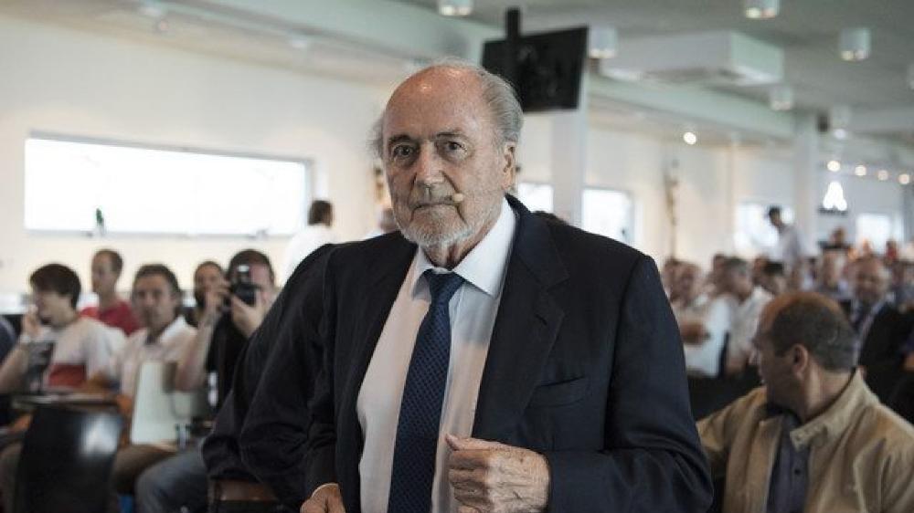 Sepp Blatter n'a pas perdu l'art du tacle