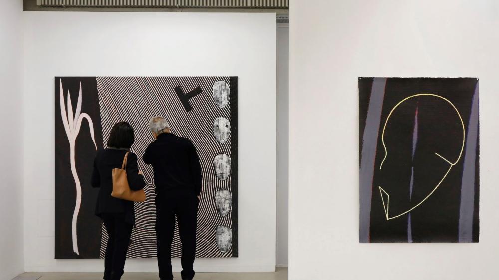 Juan Martinez laisse sa peinture «prendre la parole».