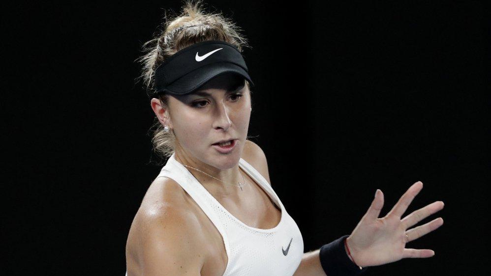 Inventive et guerrière, Belinda Bencic a validé son retour au premier plan avec cette victoire sur la No 5 mondiale et finaliste de l'an dernier.