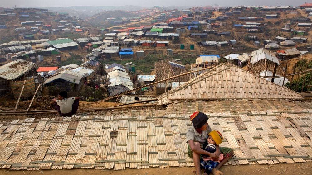Au total, près d'un million de Rohingyas sont réfugiés au Bangladesh–ici le camp de réfugiés de Cox's Bazar, ville portuaire au sud du pays.