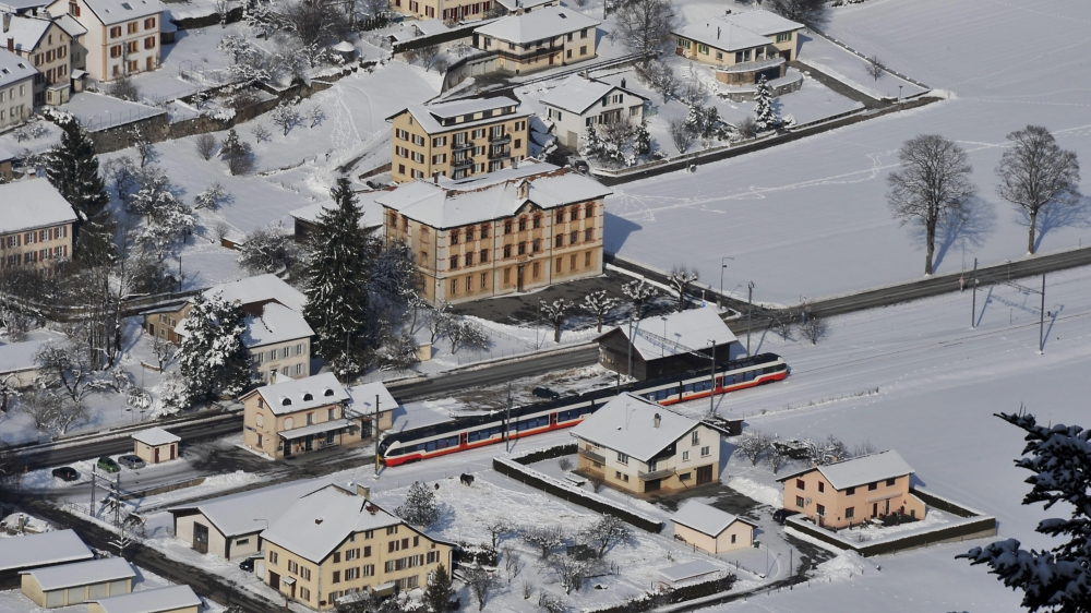 La gare de Buttes devrait être réaménagée d'ici 2020.