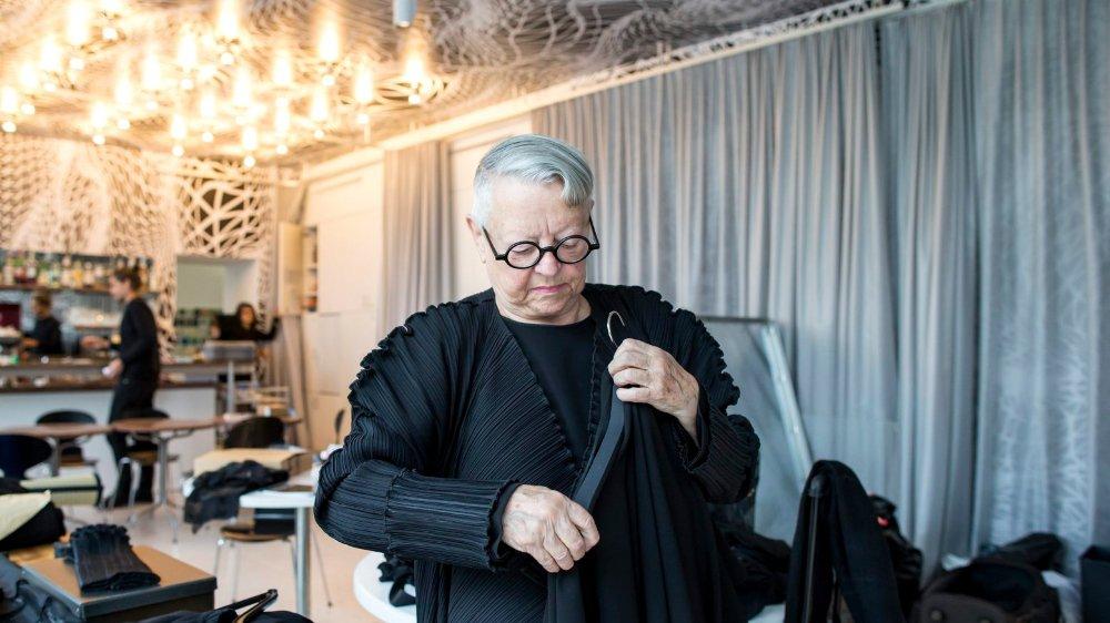 Christa de Carouge avait conçu sa première collection en 1983.