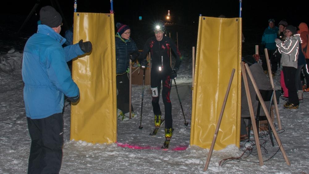 Des fondues attendent les vaillants participants, une fois la ligne d'arrivée franchie.