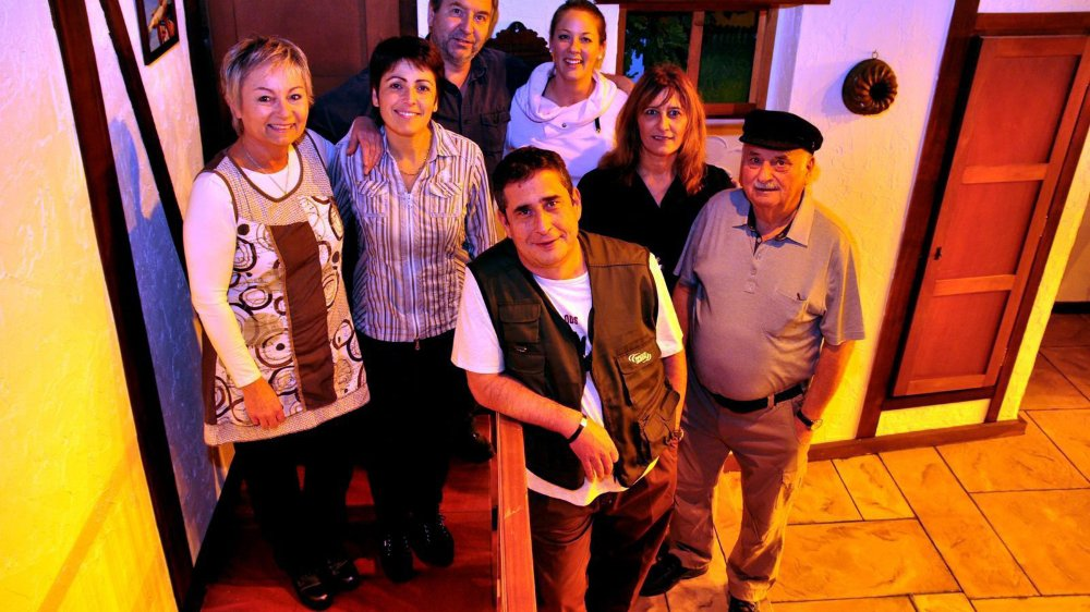 La troupe Comoedia au Théâtre  de poche de la Combe-Girard.
