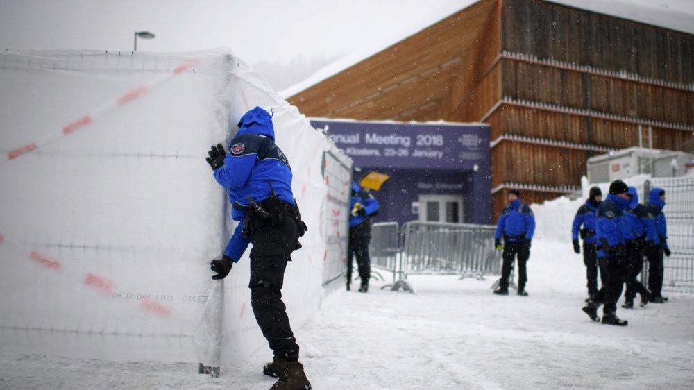 Durant le Forum économique mondial, Davos se ferme presque entièrement au reste du monde.