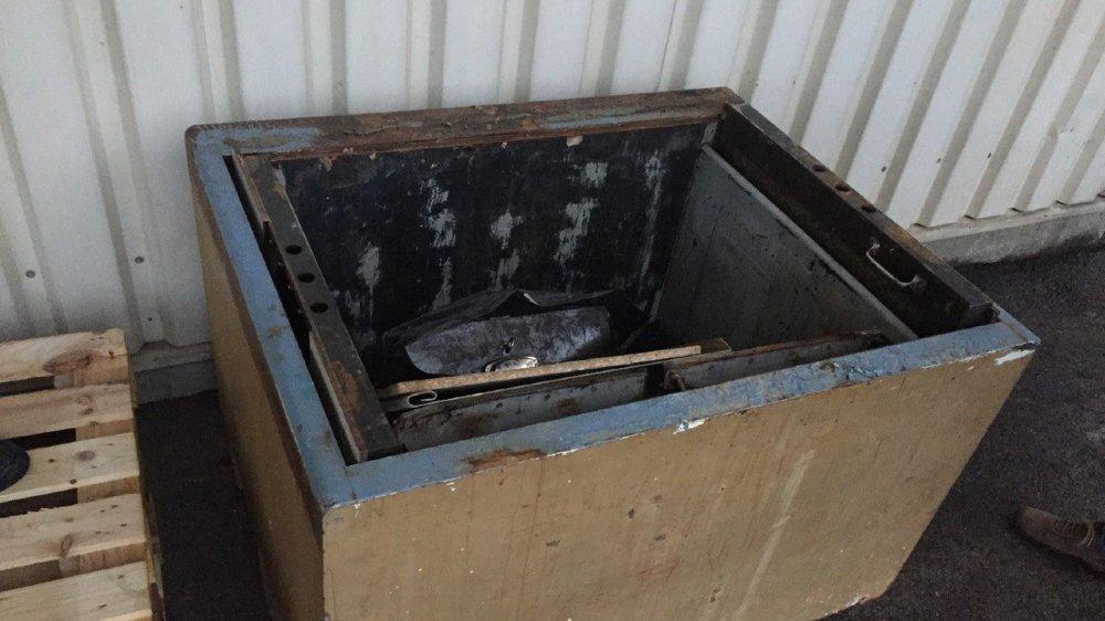 Le coffre-fort est vide: 7000francs ont été dérobés.