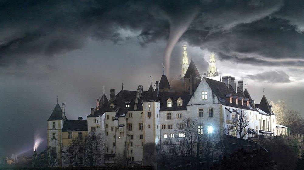 Avis de tempête sur le château de Neuchâtel