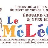 """Rencontre autour du récit de voyage """"Le Caméléon"""""""