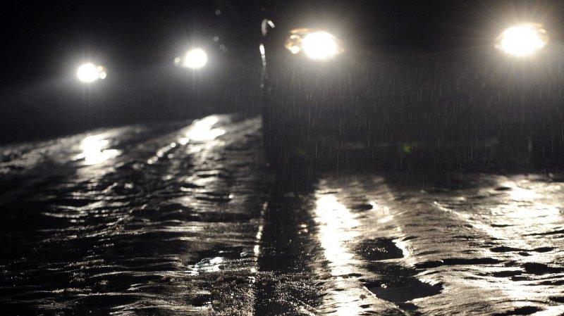 Les rues de La Chaux-de-Fonds étaient des plus dangereuses cette nuit.