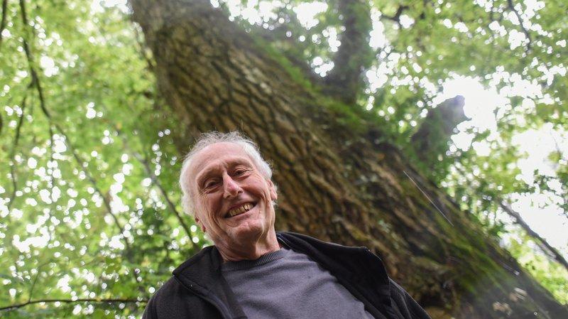 La passion de François Bonnet pour les arbres remonte à sa jeunesse.