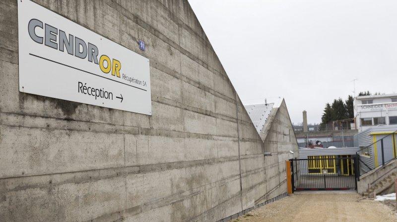 L'entreprise Cendror à La Chaux-de-Fonds.