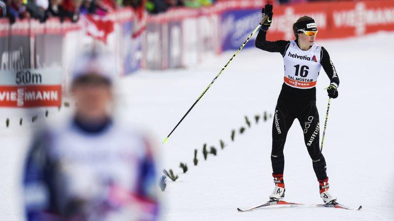 Ski de fond: Laurien van der Graaf remporte le premier succès de sa carrière à Lenzerheide