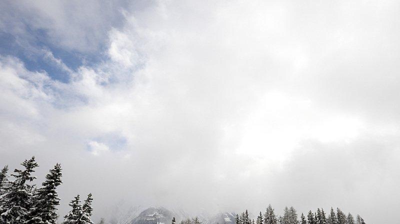 Le danger d'avalanche est marqué ce week-end en Valais.