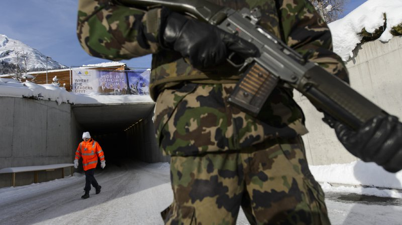 L'an dernier, 4746 militaires avaient été déployé pendant le forum.
