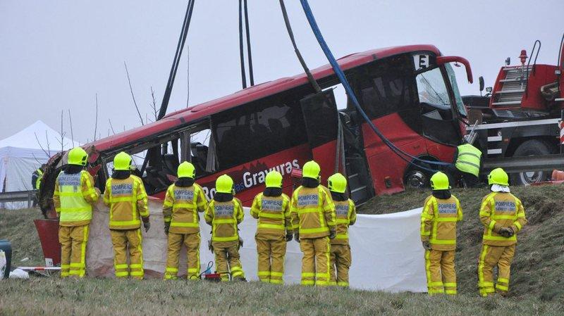 L'accident a coûté la vie à quatre personnes qui revenaient des fêtes de fin d'année au Portugal.