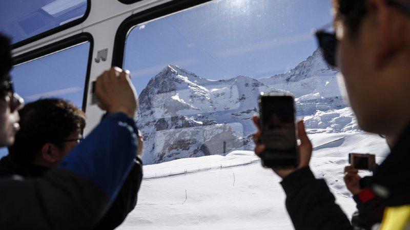 L'Europe représente 16% de tous les voyages des touristes chinois à l'étranger. Et la Suisse draine une bonne partie de cette clientèle. (illustration)