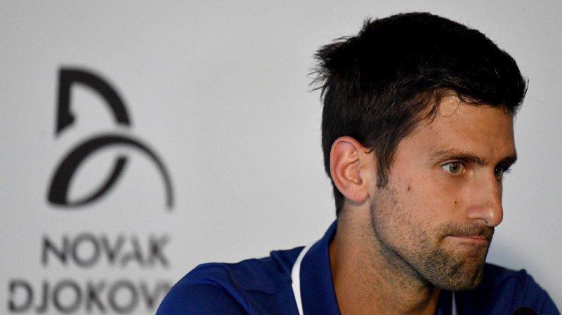 Tennis: Djokovic doit déclarer forfait pour le tournoi de Doha à cause de son coude douloureux