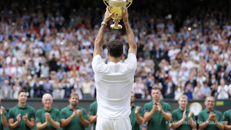 Federer est le 3e sportif de l'année, derrière Hamilton et Ronaldo