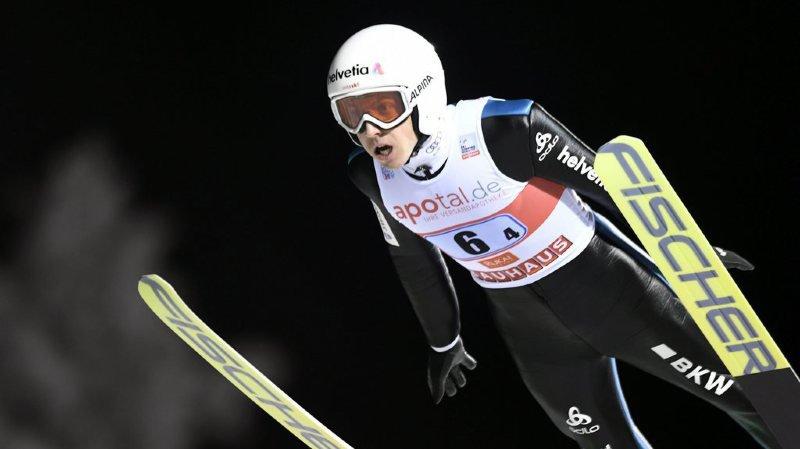 Vol à skis: Simon Amman 9e après la première manche à Oberstdorf