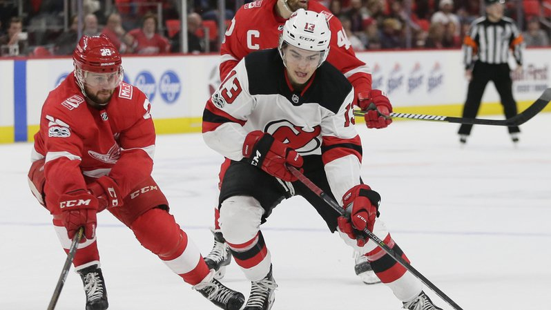 Hockey - NHL: doublé pour le Valaisan Nico Hischier dans la victoire 3-1 de New Jersey face à Detroit