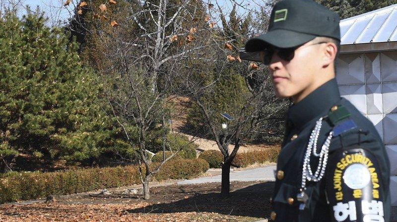 Le soldat nord-coréen a réussi à atteindre un poste de garde au Sud (archives).