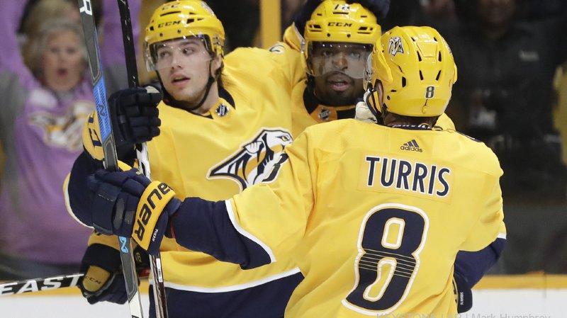 NHL: le St-Gallois Kevin Fiala dépasse la barre des 20 points cette saison