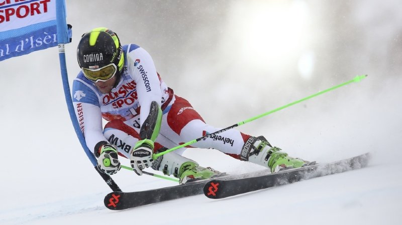 Ski alpin: Justin Murisier occupe le 5e rang après la 1re manche du géant d'Alta Badia