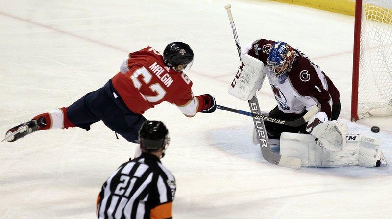 Hockey-NHL: les Suisses Malgin et Fiala cartonnent