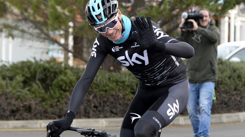 Cyclisme: selon David Lappartient, Froome, soupçonné de dopage, est traité comme tous les autres coureurs