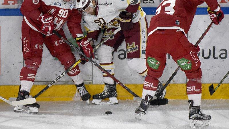 Hockey: Servette remporte le derby face à Lausanne, Fribourg battu par Langnau