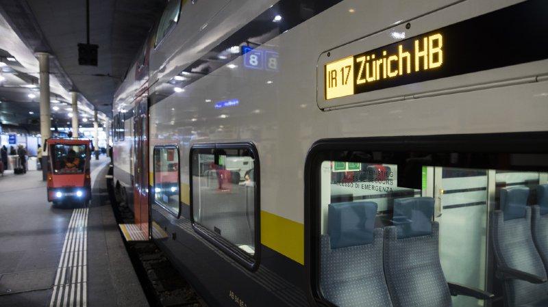 CFF: la régie teste une baisse de la température dans les trains