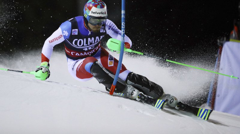 Ski alpin: les Suisses Luca Aerni (3e) et Daniel Yule (6e) en course pour le podium à Madonna di Campiglio