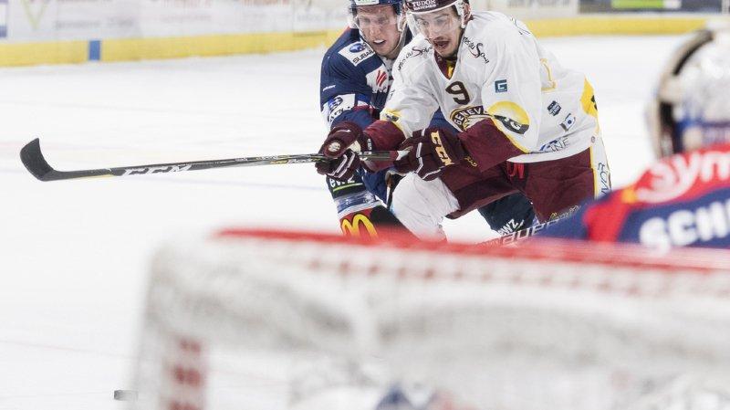 Hockey: Genève-Servette bat Zurich et remonte à la quatrième place, Fribourg battu