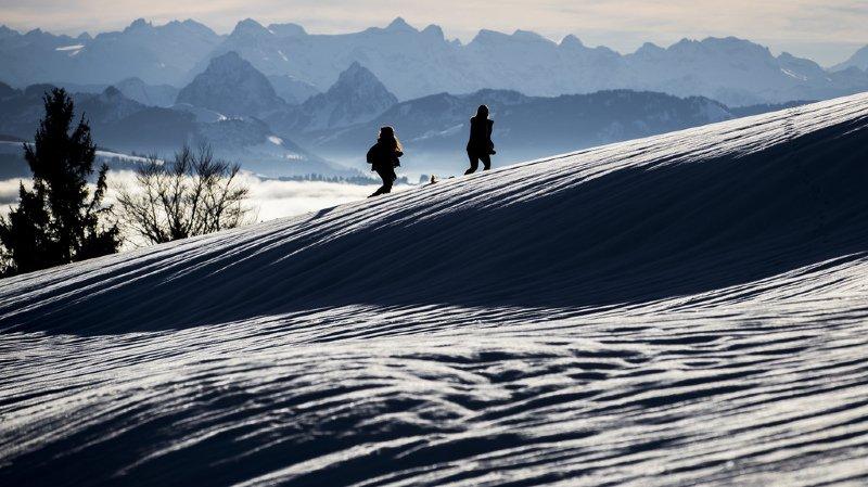 Météo: la Suisse a vécu un mois de décembre neigeux