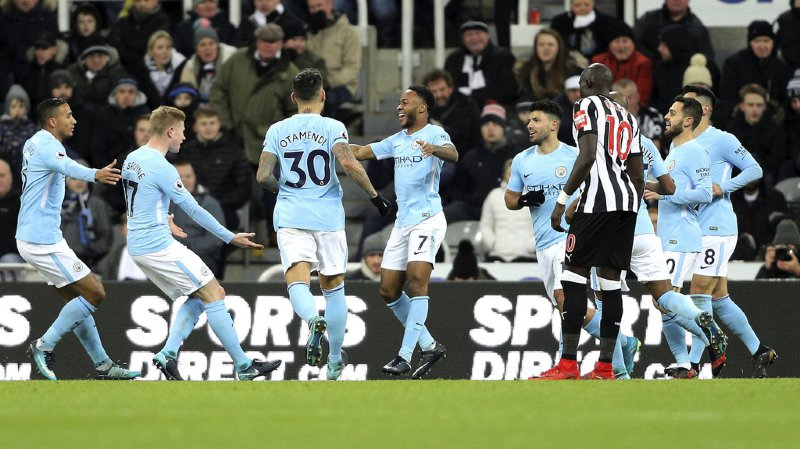 Football - Premier League: 18e succès consécutif pour ManchesterCity, à une victoire du record