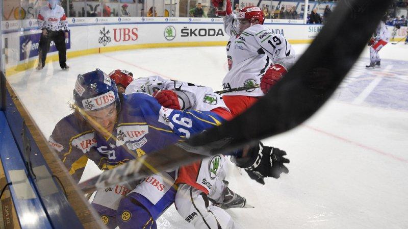 Hockey: le HC Davos bat Mountfield 5-1 en Coupe Spengler