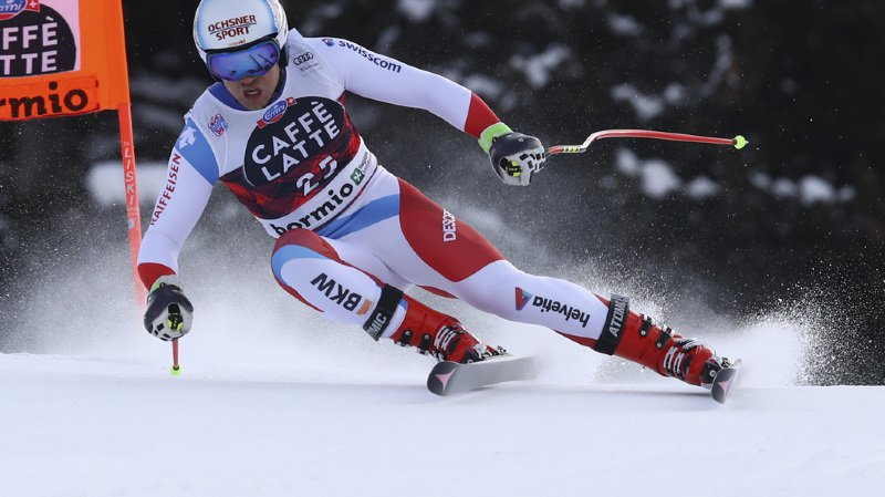 Ski alpin - Combiné à Bormio: Mauro Caviezel au pied du podium