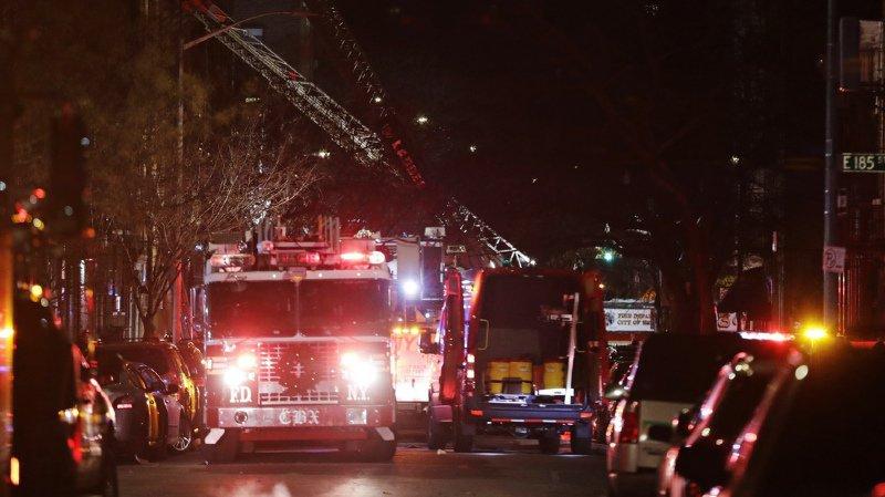 New York: douze personnes périssent dans l'incendie d'un immeuble